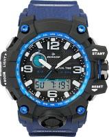 DUNLOP DUN-285-G03 DUNLOP BLUE ANALOG-DIGITAL Watch  - For Boys