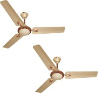 View Rok On EP-0031 Futura 3 Blade Ceiling Fan (COMBO CEILLING FAN) 3 Blade Ceiling Fan(GOLD, MULTI COLOUR)  Price Online
