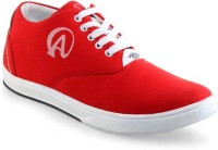 U2Shoes Boys Lace Sneakers(Red)