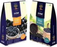Oosh Seedless Black Raisin 250g & Whole Dried Blueberry 150g ( Total 400g) | Premium Dry Fruits | Gifting Ideas Blueberry, Raisins(2 x 200 g)