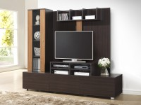 RoyalOak Barcelona Engineered Wood TV Entertainment Unit(Finish Color - Chocolate Brown)