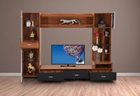 RoyalOak Iris Engineered Wood TV Entertainment Unit(Finish Color - Honey Brown)