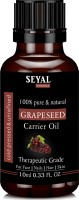 Seyal Grape Seed Oil 100% Pure & Natural, Therapeutic Grade Organic Cold Pressed, For Face, Nails, Hair & Skin(10 ml) - Price 50 83 % Off