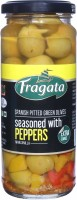 Fragata Spanish Pitted (Green) Olives with Peppers Olives & Peppers(330 g)