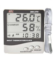 HTC 288-ATH HTC 288-ATH Hygrometer Digital Humidity Tester Thermometer Thermometer(Grey)