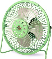 View globalurja.com Globalurja Power Efficient Small Kitchen Cooling Fan Green 4 Blade Table Fan(Green)  Price Online