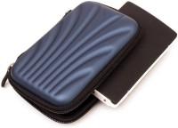 Etake Blue Premium Design Cover 2.5 Pouch(For Seagate Backup Plus Slim 2 TB External Hard Disk Drive ( Casing Case Cover ), Nevy Blue)