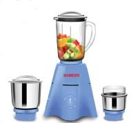 Sameer i-Flo 3 Jar 750 Mixer Grinder(Blue, 3 Jars)