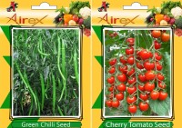 Airex Green Chilli, Cherry Tomato Seed(25 per packet)