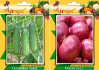 Airex Cucumber, Onion Seed(25 per packet)