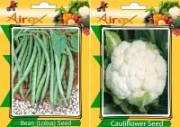 Airex Lobia, Cauliflower (Phool Ghobi) Seed(15 per packet)