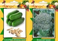 Airex Cucumber (Kheera), Broccoli Seed(15 per packet)