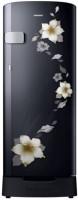 SAMSUNG 192 L Direct Cool Single Door 2 Star Refrigerator(Star Flower Black, RR19N1Z22B2-HL/RR19N2Z22B2-NL)