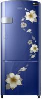 SAMSUNG 212 L Direct Cool Single Door 3 Star Refrigerator(Star Flower Blue, RR22N3Y2ZU2-HL/RR22M2Y2ZU2-NL)