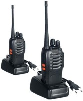View EyeVisionPro Bf-888S Two-Way Radios Walkie-Talkies Long Range Handheld Radios BF-888S Walkie Talkie(Black) Home Appliances Price Online(EyeVisionPro)