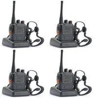 View spydo Baofeng Bf-888S 4 Walkie Talkie 2 Way Radio Long UHF 400-470MHz 16CH CTCSS/DCS Handheld Amateur Radio Walkie Talkie(Black) Home Appliances Price Online(spydo)