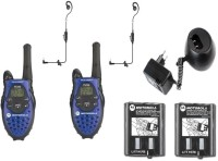 View spydo Motorola Walkie Talkie 720 Walkie Talkie(Blue) Home Appliances Price Online(spydo)