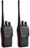 View spydo Baofeng Bf-888S 4 Quality Walkie Talkie 2pcs baofeng 888s Walkie Talkie(Black)  Price Online