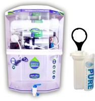 View Aquaultra Transparent 15 RO + UV + UF + TDS Water Purifier(Transparent)  Price Online