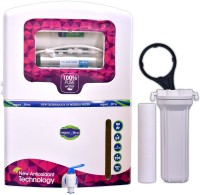 View Aquaultra A300 15 RO + UV + MTDS Water Purifier(White)  Price Online