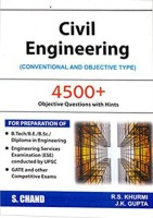 Civil Engineering (Conventional and Objective Type) revised edition Edition(English, Paperback, J. K. Gupta R. S. Khurmi)