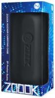 Zoook Speaker Case Cover for Zoook Rocker Buddy - Hard Storage splash-proof Carrying Flip Zipper Travel Case for ZOOOK Rocker-2, JBL Pulse, and JBL Flip-3(Black, Plastic)