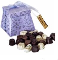 Moshiks PURPLE SHINY BOX WITH 150 GM DARK CHOCOLATE Bars(0.15 kg)