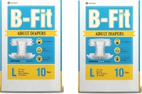 B-fit Adult Diaper Pants Large size pack of 2 Adult Diapers - L(2 Pieces)