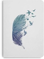 DailyObjects A6 Notebook(Feather Flock, Multicolor)