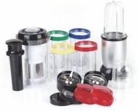 Powerjet 21 2 Juicer Mixer Grinder(Silver, 4 Jars)