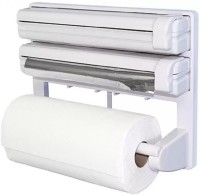 Lagom ABS Strong Moulded Easy Flow™ Type-X-9 3-in-1 Kitchen Roll Holder Mount For Cling Film Towel Wrap Aluminium Foil Wall Mounted ABS Strong Moulded Easy Flow™ Type-X-9 Paper Dispenser Paper Dispenser