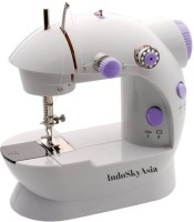 View IndoSkyAsia MINI SEWING MACHINE Electric Sewing Machine( Built-in Stitches 45) Home Appliances Price Online(IndoSkyAsia)