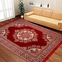manvicreations Multicolor Chenille Carpet(150 cm  X 210 cm)
