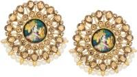 Luxor ER-1826 Diamond Alloy Stud Earring