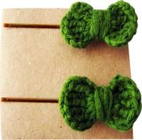 Saaheli Crocheted Hair Pin 008 Hair Pin(Green) - Price 142 64 % Off