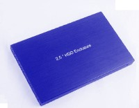 Etake Blue Shining USB 3.0 Hard Drive Casing 2.5 External HDD Enclosure(For 2.5 Inch Sata Hard Drive (Laptop), Blue)
