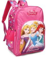 Disney Princess Beauties Pink 16' ' School Bag(Pink, 30 L)