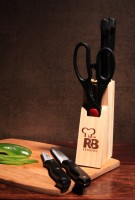 Renberg RB-8810 Stainless Steel Knife Set(Pack of 6)