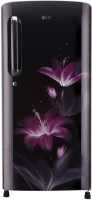LG 190 L Direct Cool Single Door 4 Star Refrigerator(Purple Glow, GL-B201APGX)
