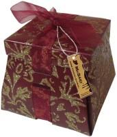 Moshiks MEHROON SHINY BOX 150 GM MILK ALMOND CHOCOLATE Bars(0.15 kg)