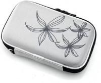 Etake Silver Essentials Case 2.5 inch Hard Disk Case 2.5 Inch(For Pouch for 2.5 External Hard Disk Drive, WD, Seagate, Sony, HP, Dell, Adata, Silver)