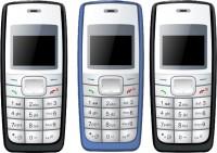 I Kall K72 Pack of Three Mobiles(Black & Blue)