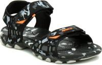 Sparx Men BlackCamouflage Sports Sandals