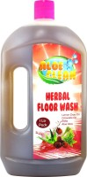 Aloe clean Herbal Floor Wash (Single) - Contain Reetha + Aloe Vera Juice + Citronella Oil + Lemon Grass Oil - Herbal Floor Cleaner AloeVera(1000 ml)