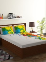 Bombay Dyeing Cotton Double Abstract Bedsheet Flipkart Rs. 2424.00