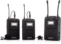 Boya BY-WM8 Dual Channel UHF Wireless System for Camera Microphone