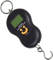 IndoSkyAsia Digital LCD Handheld Portable Weighing Scale(Black)