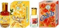Purandas Ranchhoddas PRS Gulab & Champa 12ml Each Floral Attar(Floral)
