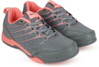 Sparx SX0100L Running Shoes For Women(Grey, Pink)