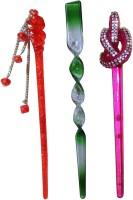 VOGUE Combo of Multi Color Juda Sticks Bun Stick(Multicolor) - Price 450 77 % Off